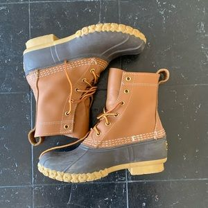 Brown L.L.Bean Bean Boots Size 6